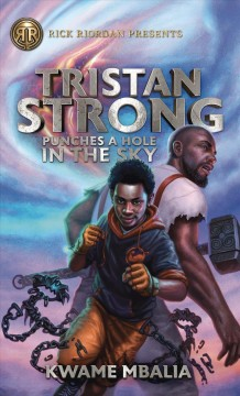 This is the cover of the book Tristan Strong by Kwame Mbalia.