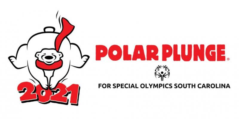 This is the logo for the 2021 Isle of Palms Polar Plunge.